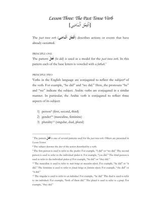 Download 03 the past tense verb pdf pdf book