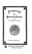 Apostles of mediaeval Europe.