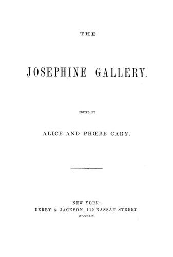 Download The Josephine gallery