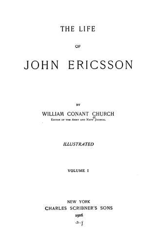 The life of John Ericsson