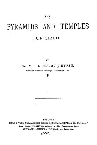 Download The pyramids and temples of Gizeh