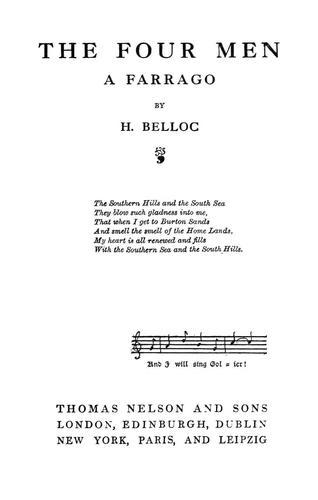 Download The four men; a farrago