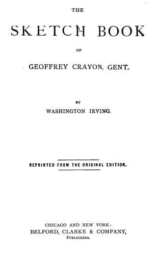 Download The sketch book of Geoffrey Crayon, gent., pseud.