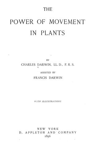 Download The power of movement in plants