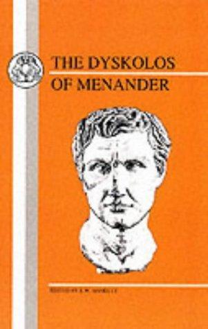Download The Dyskolos of Menander