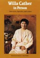 Download Willa Cather in person