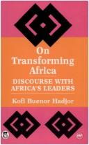 On transforming Africa