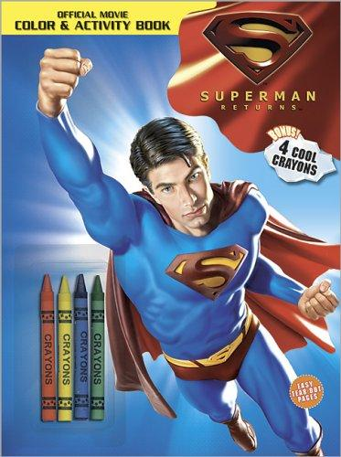 Download Superman Returns Color & Activity Book