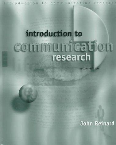 Download Introduction to communication research