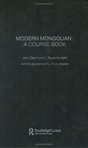 Download Modern Mongolian