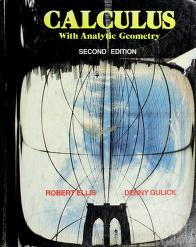 Cover of: Calculus with analytic geometry | Robert Ellis
