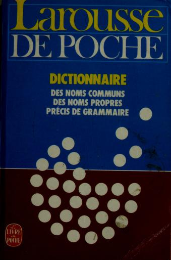 Cover of: Larousse de poche | Larousse