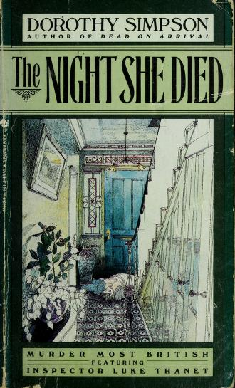 Cover of: Night She Died, The | Simpson, Dorothy