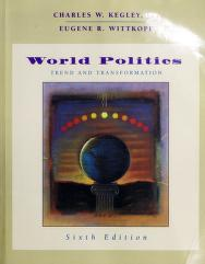 Cover of: World politics | Charles W. Kegley undifferentiated
