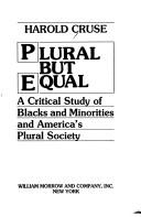 Plural but equal by Harold Cruse